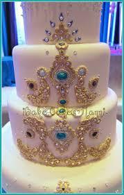 Indian Wedding Cakes Indian Wedding Cake With Jewels