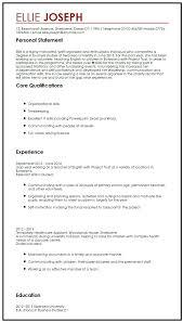 Personal Carer Resume Sample Personal Statement For Resume U2013 Topshoppingnetwork Com
