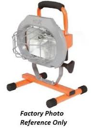 hdx portable halogen work light hdx 500 watt halogen portable work light r3 7618 819286011538 ebay