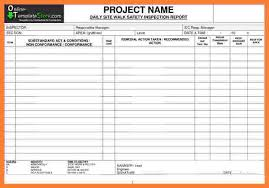 daily inspection report template 9 construction inspection report template progress report
