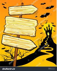 halloween background vertical halloween vertical background wooden sign vector stock vector