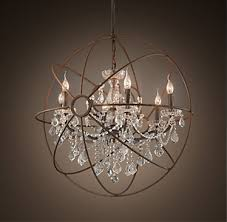 Crystal Chandelier Band Chandelier Collections Rh