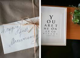 1st wedding anniversary ideas wedding gift 1st year wedding anniversary gift ideas for him