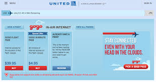 no more gogo all day passes on united and why that may be a good