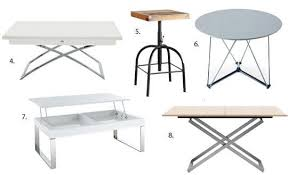adjustable height side table adjustable height side table awesome cool coffee tables with movable