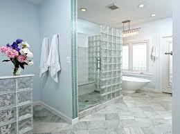 glass block bathroom designs wonderful glass block walls windows highlight modern bath remodel