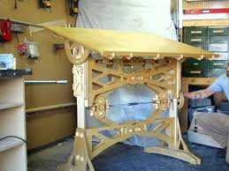Drafting Table Woodworking Plans Pdf Woodwork Drafting Table Plans Download Diy Plans The Faster