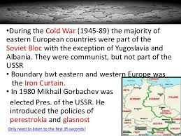 Eastern Europe Iron Curtain Eastern Europe Ppt