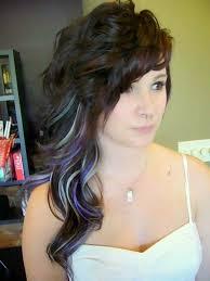 chunking highlights dark hair pictures pastel highlights idea jpg