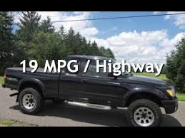 2002 toyota tacoma sr5 mpg 2002 toyota tacoma sr5 ext cab 4wd w supercharger for sale in
