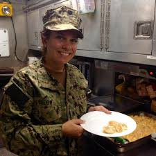 thanksgiving with the coast guard applesauce macaroni and cheese