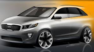 suv kia 2015 2015 2016 kia sorento sketches released