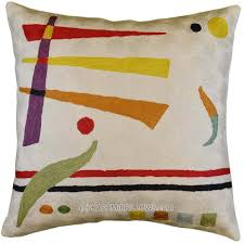 Contemporary Throw Pillows For Sofa by Kandinsky Ivory Modern Throw Pillows Cream Cushion Cover Accent