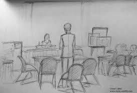 mock trialin u0027 as a courtroom sketch artist clem c