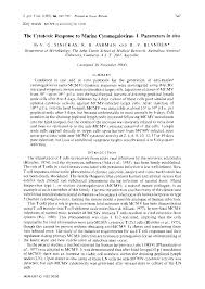 microbiology society journals the cytotoxic response to murine