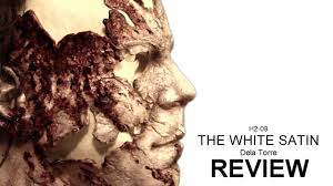 halloween h20 mask for sale dela torre the white satin michael myers mask review youtube