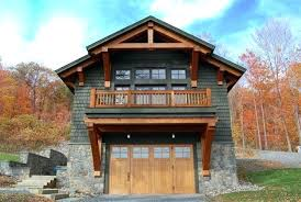 Garage Floor Plans With Living Space Timber Frame Garage Addition With Living Space Boat House Quarters