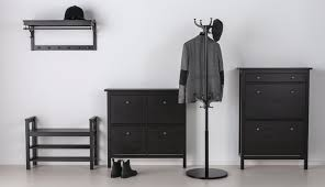 hemnes hallway black brown ikea