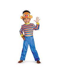 Ernie Bert Halloween Costumes Sesame Street Costumes Cookie Monster U0026 Elmo Costumes Adults