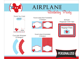airplane birthday party invitations alanarasbach com