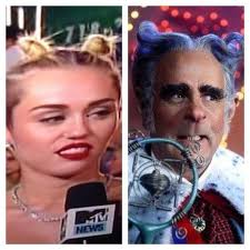 Miley Cyrus Turkey Meme - things miley cyrus looked like at the 2013 vmas