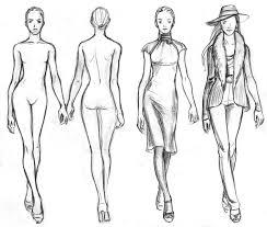 easy fashion drawings fashion drawing templates easy fashion