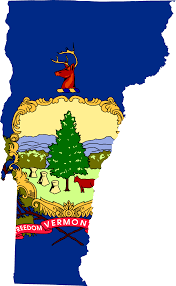 Vermont State Parks Map File Flag Map Of Vermont Svg Wikimedia Commons