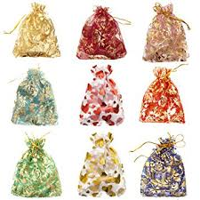 organza bags bulk ilovediy 100pcs in bulk mixed color drawstring organza