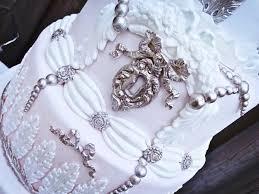 jewelled u0026 beaded winter wedding cakes cake geek magazine