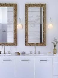 Dual Illuminated Vanity Mirrors Coastal Vanity Mirrors Design Ideas