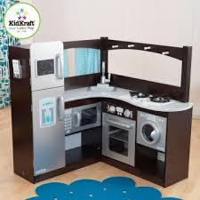 les jouets de cuisine jouets des bois cuisine en bois d angle expresso et argent 53302
