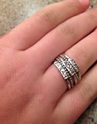 stackable mothers rings with names personalized stacking rings ring tattoo and jewlery
