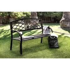 Landscape Timber Bench Exterior Metal Outdoor Bench Curved Garden Bench U201a Black Iron