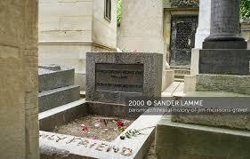visual history of jim morrison u0027s grave u2013 paris mojo