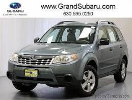 2012 Subaru Forester Interior Used Subaru Forester For Sale In Chicago Il Cars Com