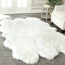 Sheepskin Area Rugs Fur Rugs Sheepskin Rug White Fur Rugs Ikea Boromir Info