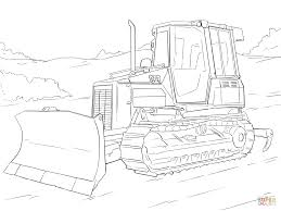 caterpillar bulldozer coloring page free printable coloring pages