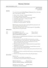 pharmacy assistant resume sample pharmacy technician resume sample