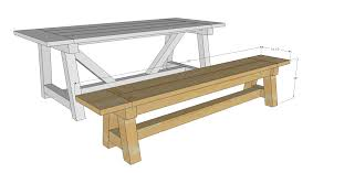 Ana White Farmhouse Bench Ana White 4x4 Truss Benches Diy Projects