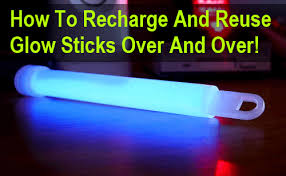 glow sticks how to recharge reuse glow sticks