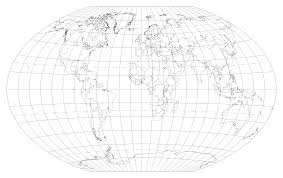 World Blank Map by National Geographic Blank Outline Maps Diagram Free Printable