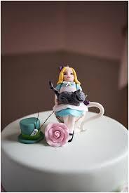 alice in wonderland cake topper image by christophe mortier