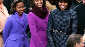 Obama First Family by Michelle Obama Daughters Sasha And Malia What The First Family
