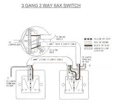 wiring diagram three two way 6ax switch t2 3 2 light
