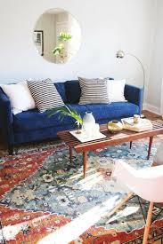 canap bleu roi decoration salon bleu foncé chaios com