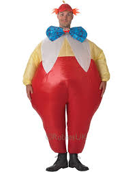 halloween blow ups clearance cl431 mens tweedle dee tweedle dum alice in wonderland inflatable