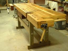 wooden workbenches plans bench decoration