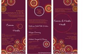 best indian wedding cards indian wedding invitations rectangle potrait purple dot flower