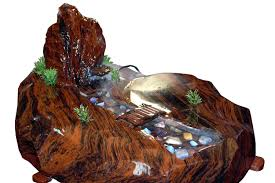 fountains for home decor home decor water fountain made from natural obsidian
