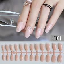 online buy wholesale fake nails light pink from china fake nails